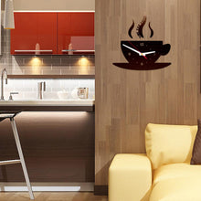 Coffee Shape DIY Removable wall Stickers