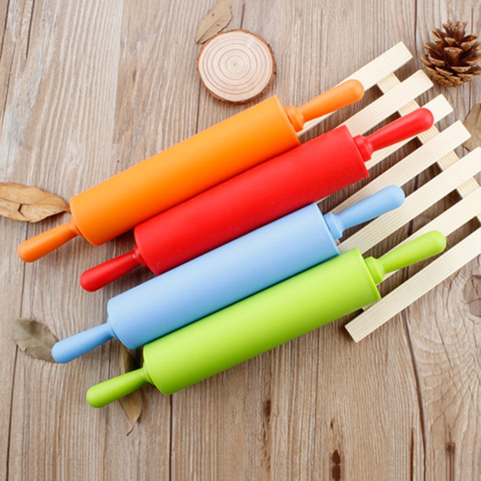 Colorful Silicone Nonstick Rolling Pin