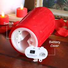 3D Fireless Flame Candle w/ Remote Control