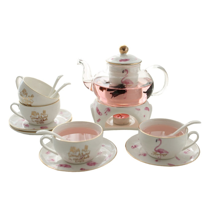 Classic Glass Tea Set