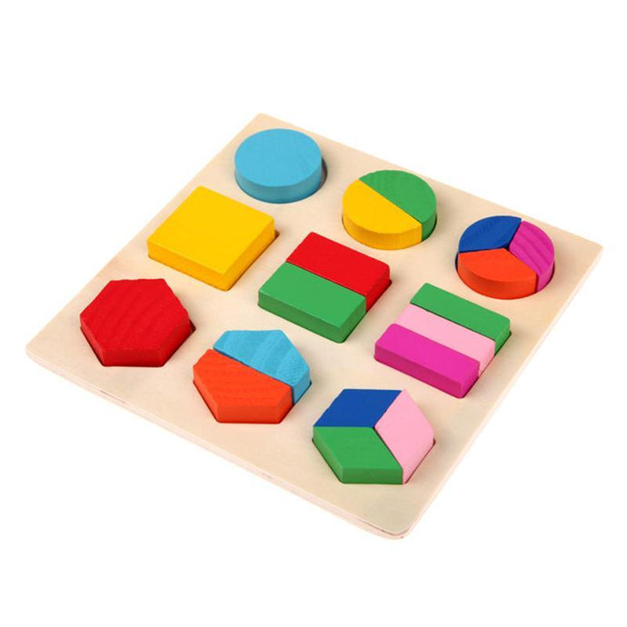 Wooden Math Puzzle Toys
