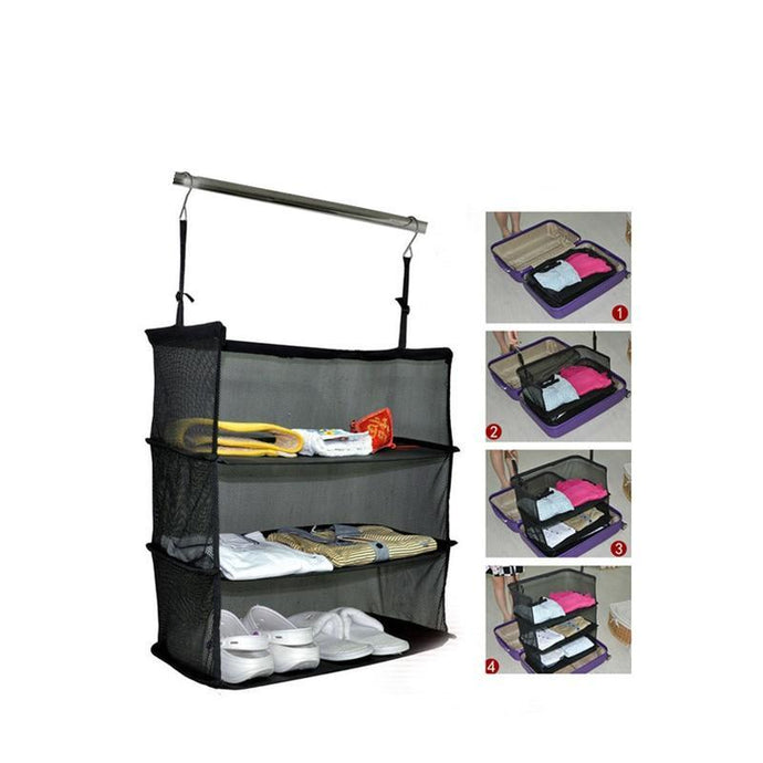 3 Layers Portable Hanging Organizer