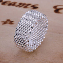 Silver Plated Ring 925 Jewelry