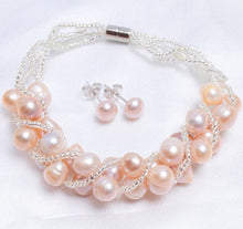 Natural Freshwater Pearl Jewelry Sets