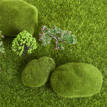 Artificial Moss Stones Decoration