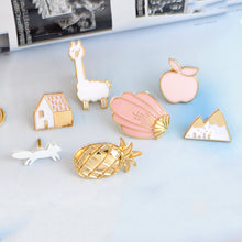 Brooch Button Pins 12pcs/set