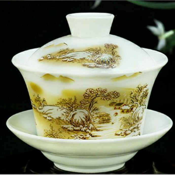 Hand Painted Ceramic Porcelain Teaware