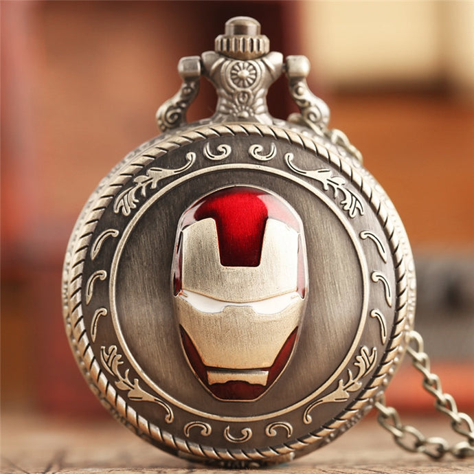 Super Hero Pocket Watch
