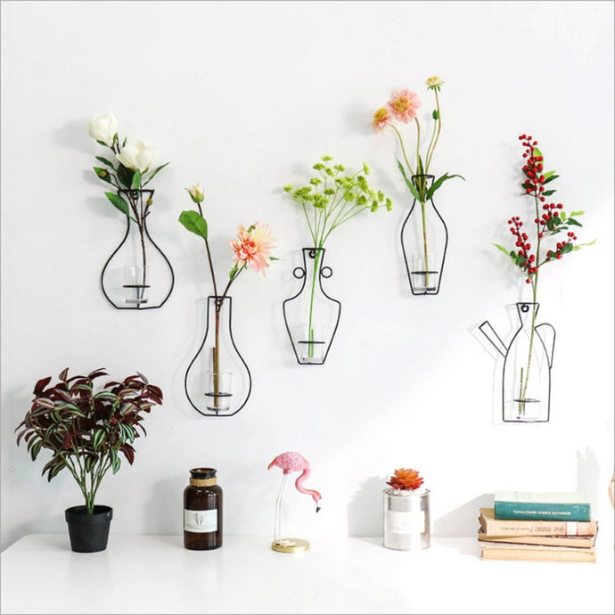 Modern Iron Rack Flower Vase