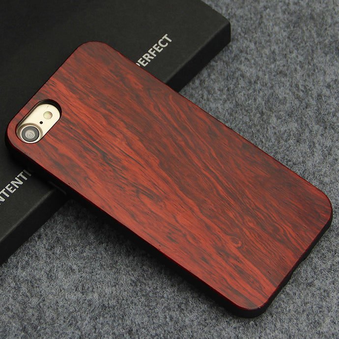 Natural Bamboo Wooden Case for iPhone
