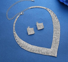 Crystal Wedding Jewelry Sets