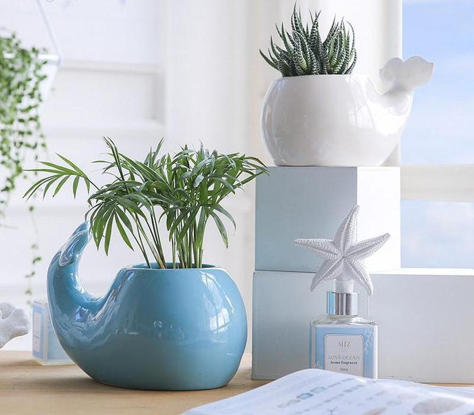 Decorative Plant Ceramic Vase