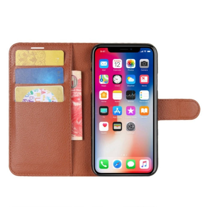 PU Leather Wallet Flip Iphone Case