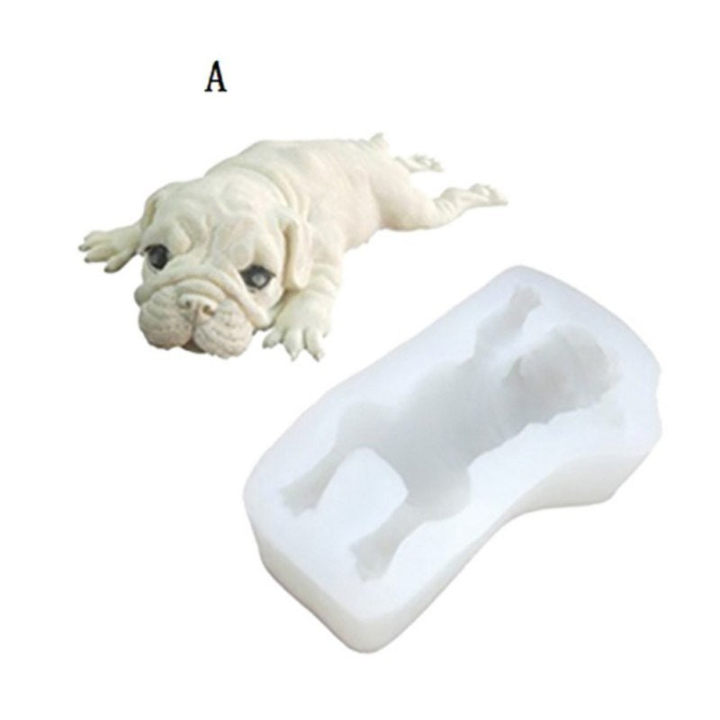 Cute Puppy Cake Mold