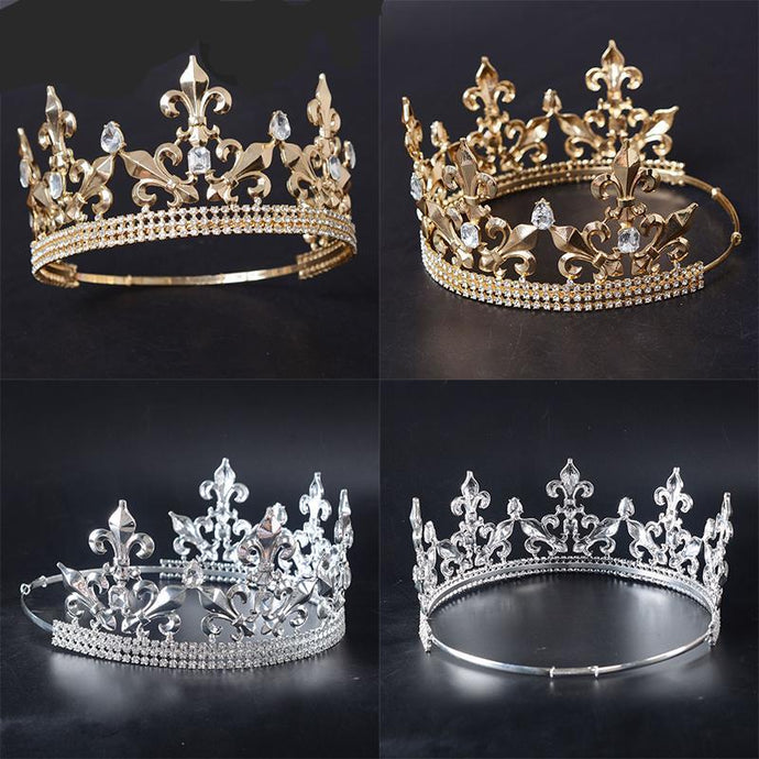 Adjustable Full Round King Crown
