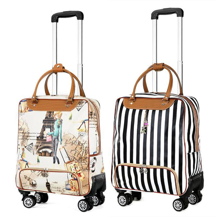 Fashion Rolling Luggage Bag