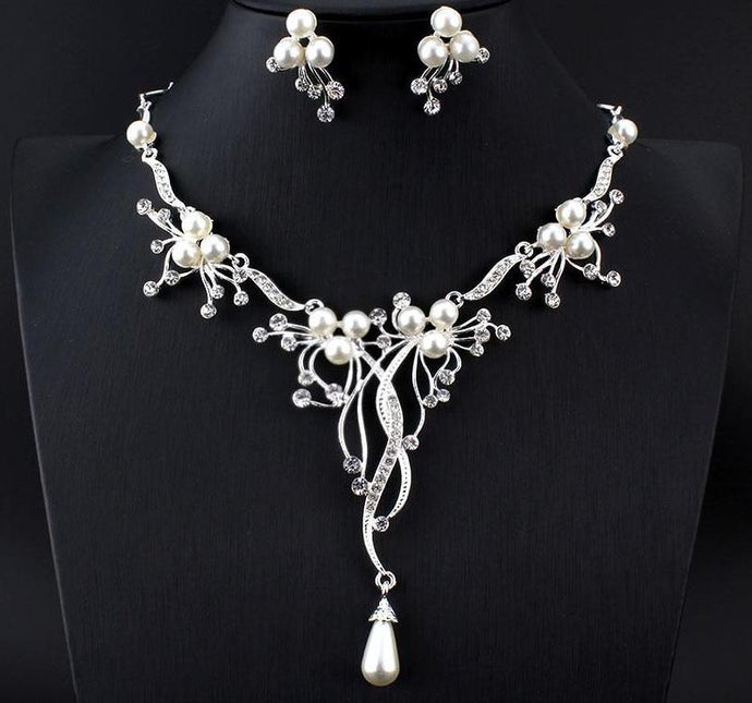 Rhinestone Bridal Jewelry Sets