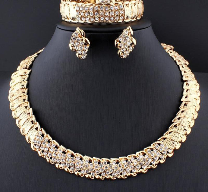Wedding Gold Jewelry Sets