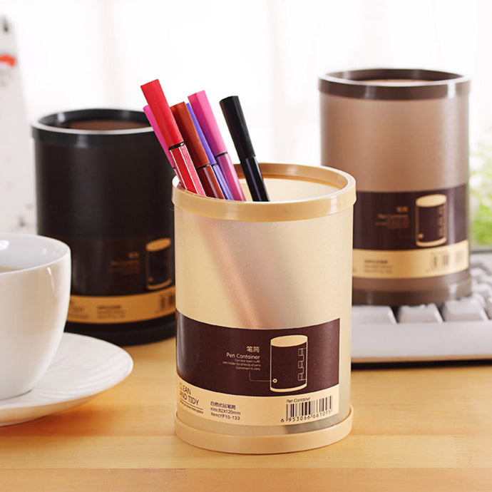 Cute Kawaii Plastic Pencil Holder