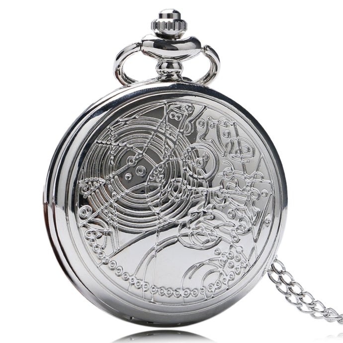 Doctor Pocket Silver Luxury Watch