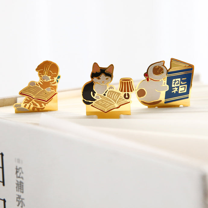 Cute Cat Clip Stationery