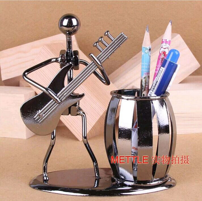 Creative Metal Pen Holder Vase