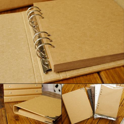 Blank Cover Loose-Leaf Album