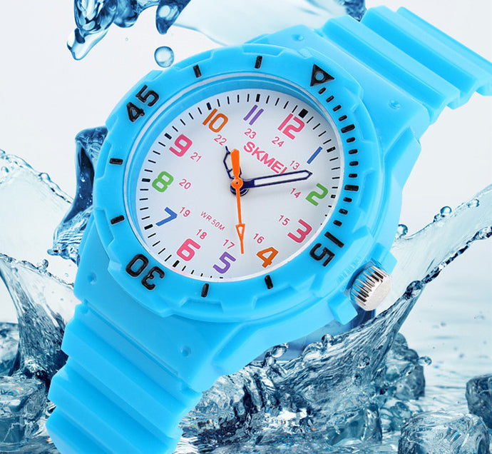 Jelly Resin Waterproof Wristwatches