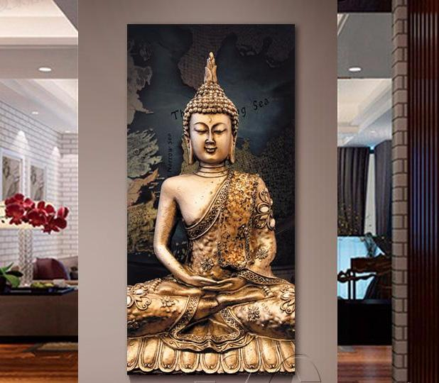 Buddha Canvas Oil Painting