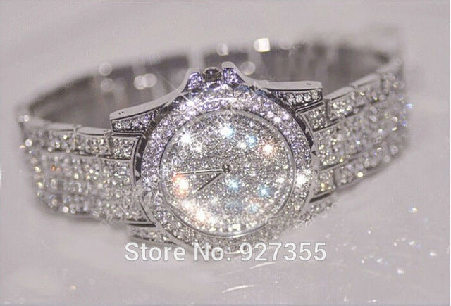 Austria Crystal Ceramic Wristwatch