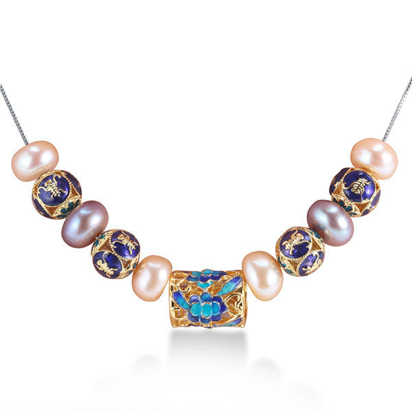 European Style Natural Pearl Necklace