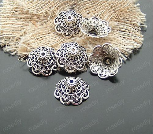 Antique Silver Plated Beads