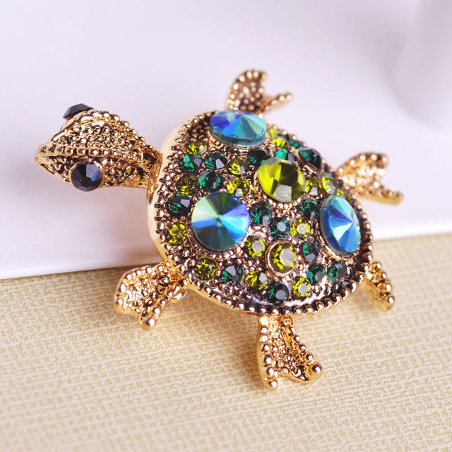 Korean Tortoise Antiques Brooches