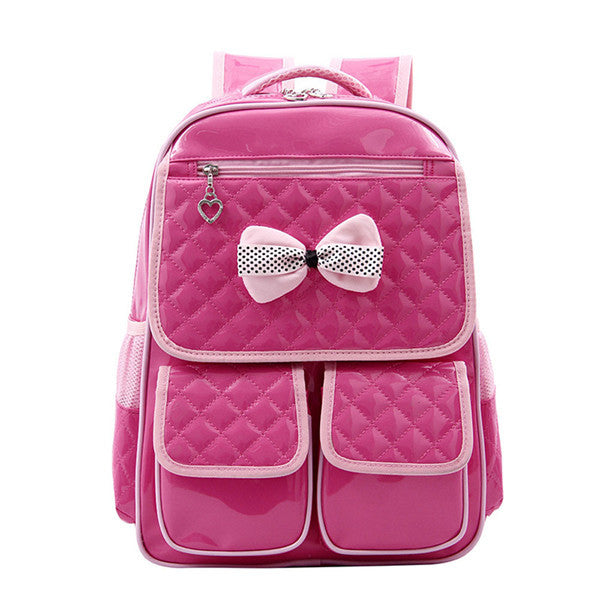Bowknot Fashion School Bag