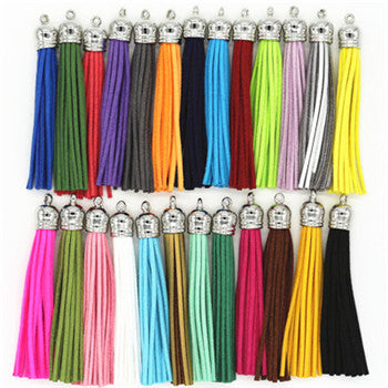 Suede Leather Tassel
