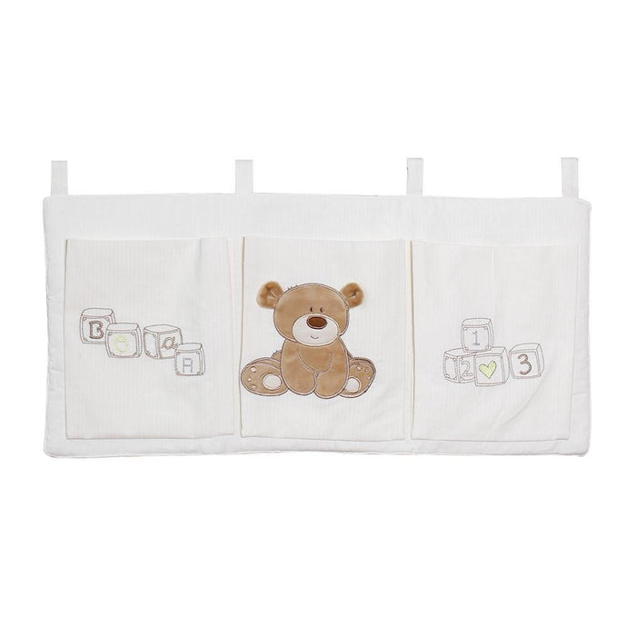 Crib Organizer Toy Diaper Pocket