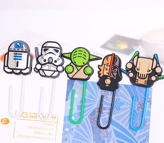 Novelty Star Wars Paper Clip Bookmark