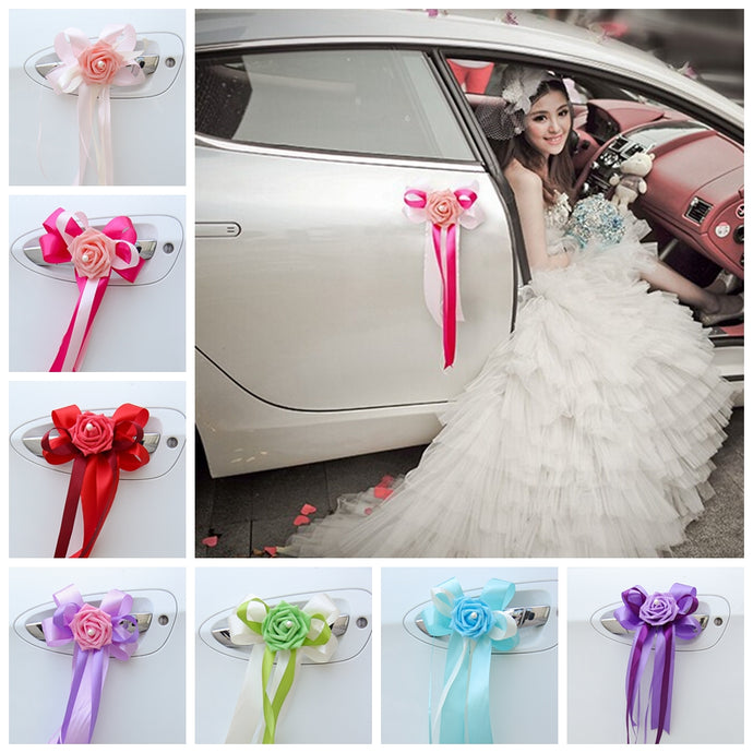 Wedding Car Decoration Flower