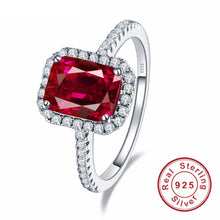 Pigeon Blood Red Ruby Ring