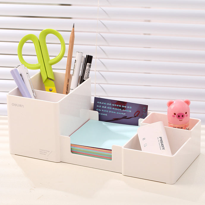 Fashion Plastic Pens Multi Function Holder Set
