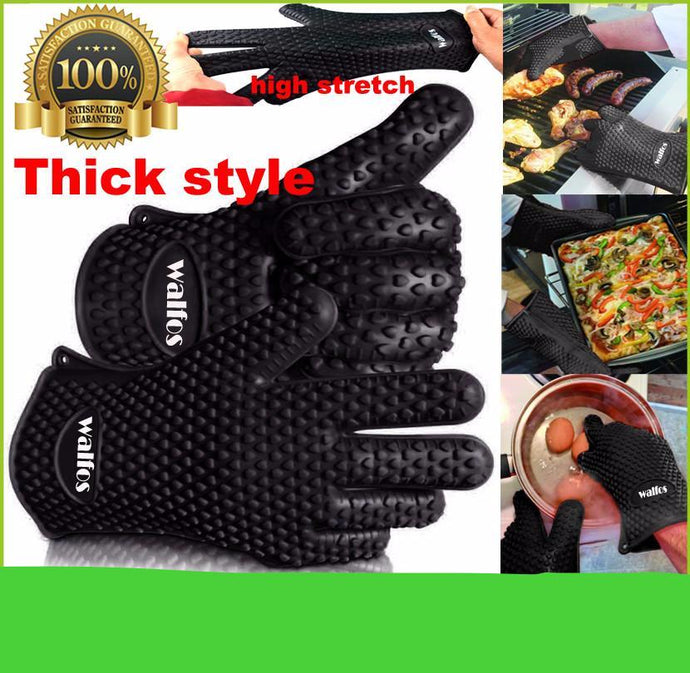 Thick Silicone Oven Baking Glove