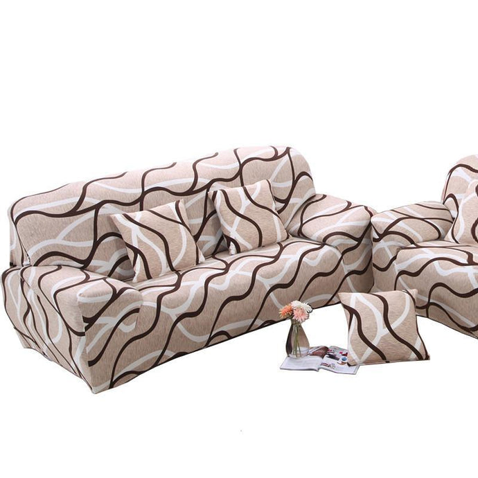 Elastic Stretch Wrap Couch Covers
