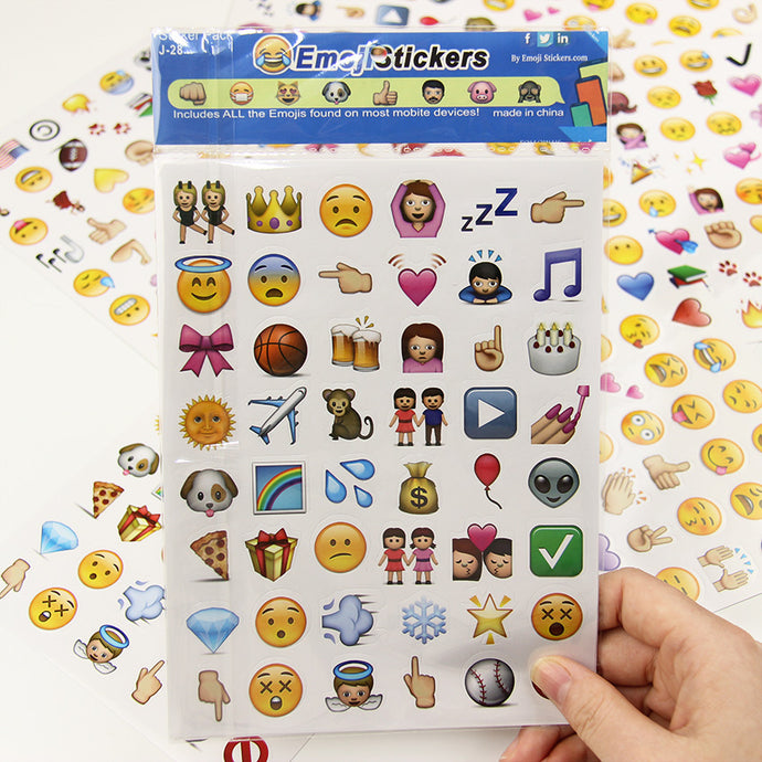 Emoji Smile Stationery Sticker