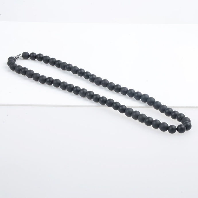 Bian Stone Black Necklace