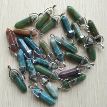 Mixed Pillar Charms Chakra Pendants & Necklaces Wholesale 24pcs/lot