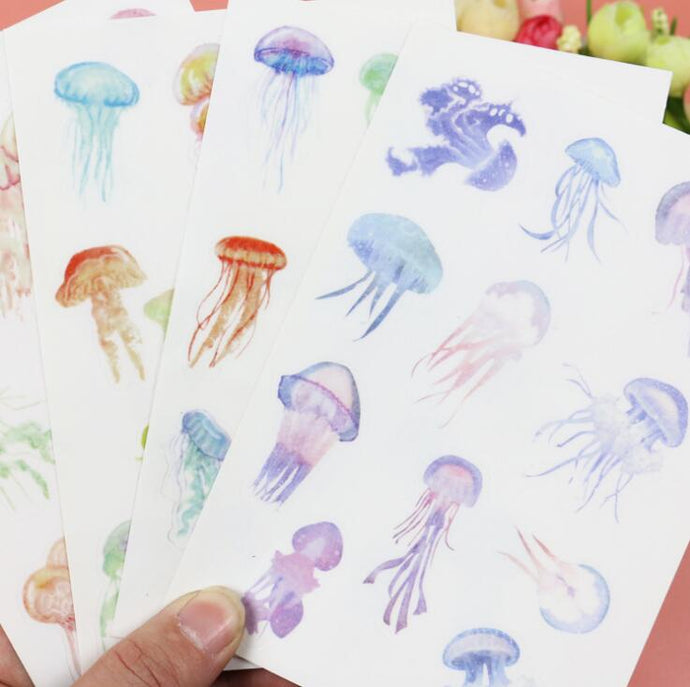 Jellyfish Polish Decorative Stickers