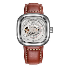 Auto Mechanical Leather Watches