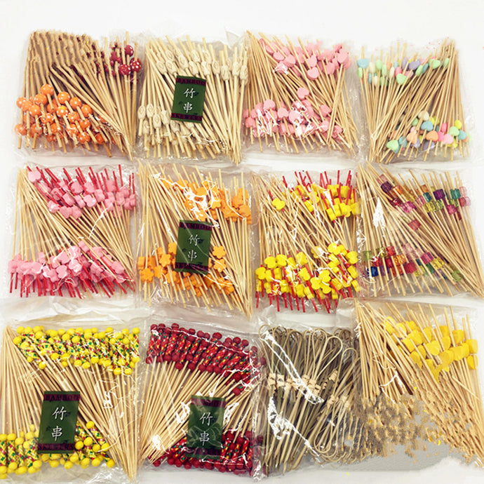 Bamboo Fireworks Toothpick