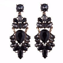 Mystery Black Bohemian Long Earring