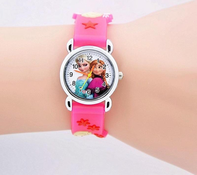 Cute Silicone Princess Watch